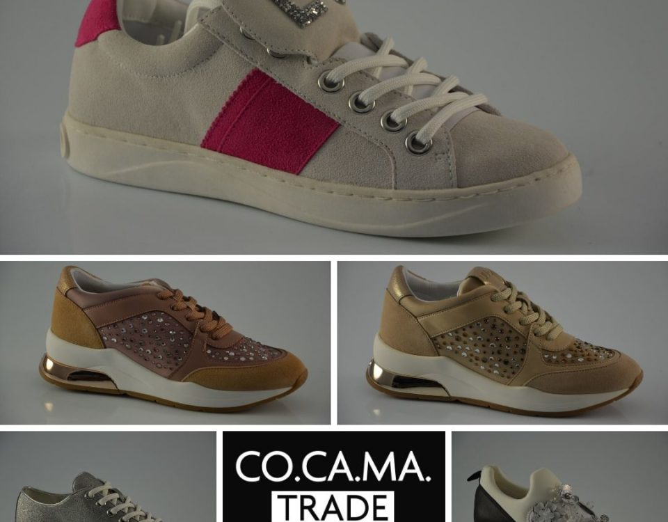 Don't miss Liu Jo's new stock of women's sneakers. At Cocama Trade you will always f…
